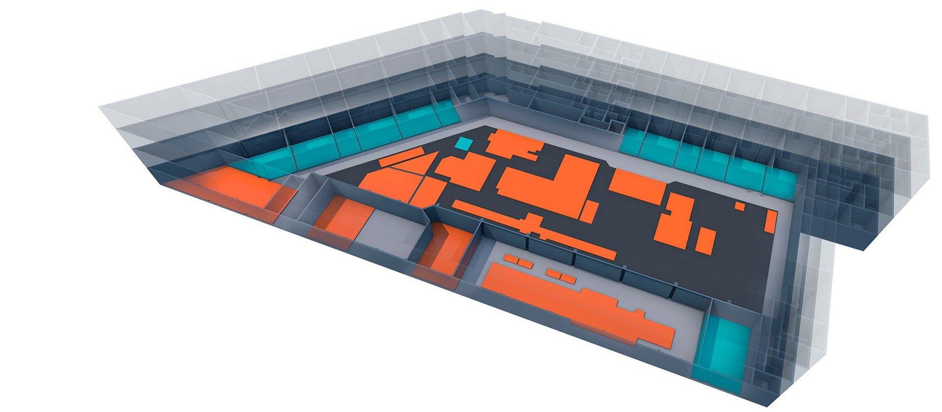 Übersichtsgrafik Anlagentechnik und Labore OHLF