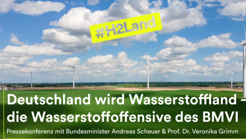 Deutschland wird Wasserstoffland