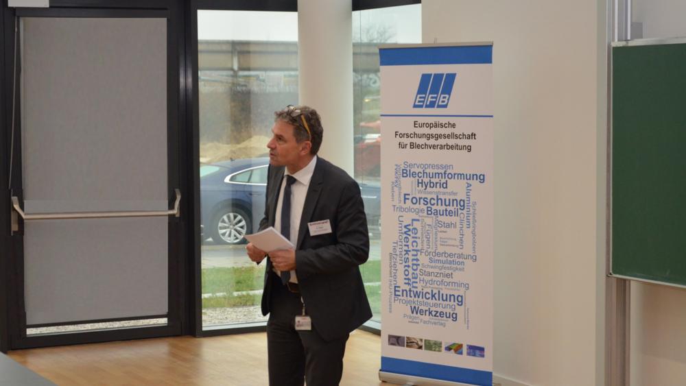Auch die OHLF war in Person des 1. Vorsitzenden, Prof. Dr.-Ing. Klaus Dilger auf dem Füge- und Schweißkolloquium des EFB e.V. im Niedersächsischen Forschungszentrum Fahrzeugtechnik am Braunschweiger Forschungsflughafen vertreten.
