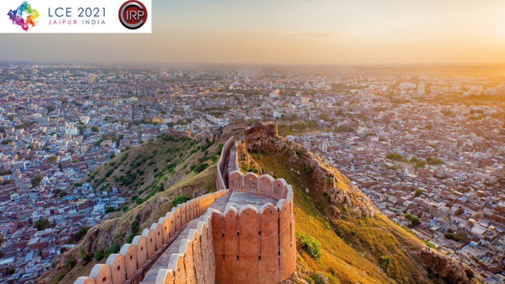 Ansicht Stadt Jaipur Indien _ LCE-Konferenz 2021