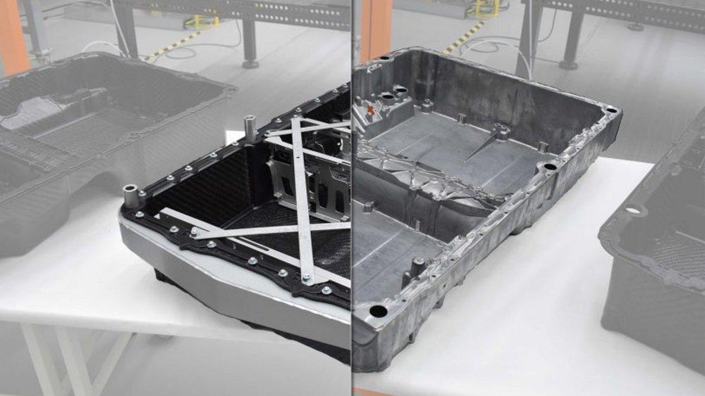 """Ansicht der im Projekt """"ProVorPlus"""" entwickelten Batteriegehäuses"""